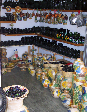 Valle de Bravo - Mercado de Artesanías